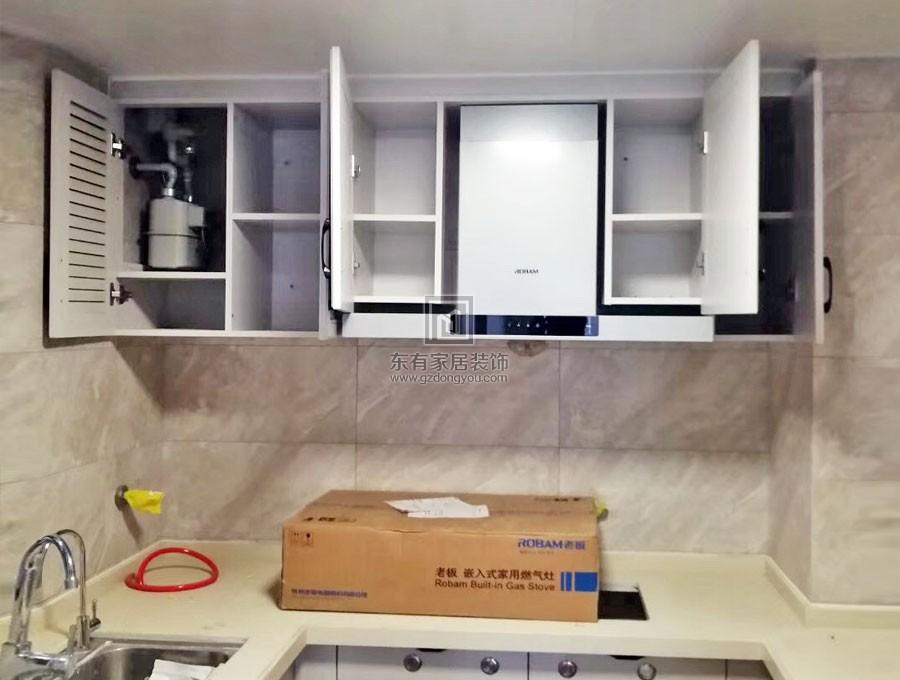 2019小区入户封装包热水器柜子看图说话FDW-009