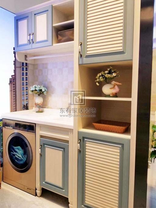 新品阳台洗衣柜产品样品实拍-或许你家的阳台也缺了个阳台柜FDW-012