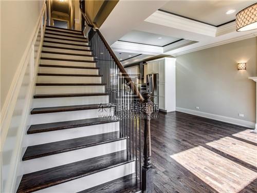 注意楼梯的入口是不能正对着大门