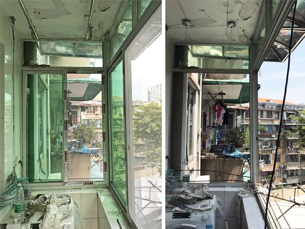 先烈中路铝窗封阳台、雨棚、纱窗 MC-136