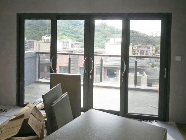 星河丹堤铝合金窗封闭阳台 MC-158