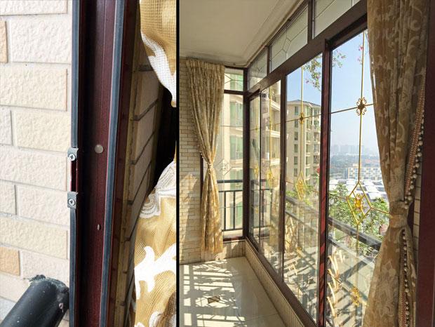 东海花园朱先生铝窗换玻璃 MC-154