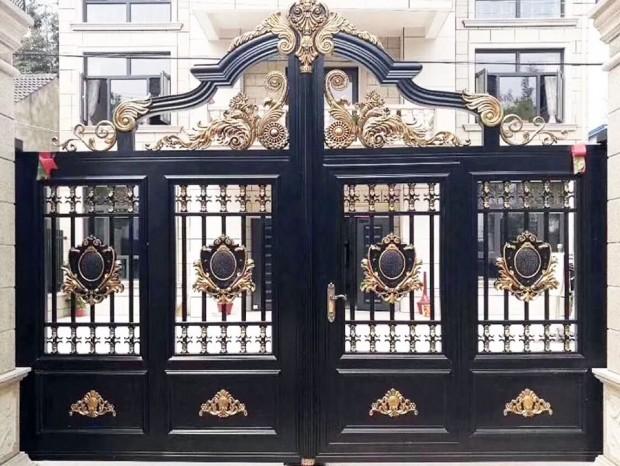 别墅庭院门与围墙护栏 DM-022