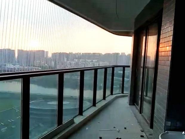 广州高尚住宅小区隐形防盗网安装 FDW-030