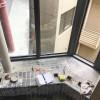 家装阳台铝木纹洗衣机柜、洗手间柜、厨房柜YTG-001