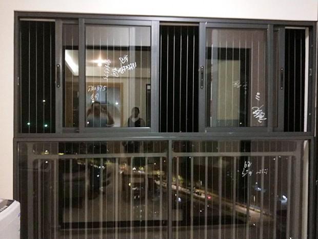 金泽豪庭全屋铝合金门窗 MC-172