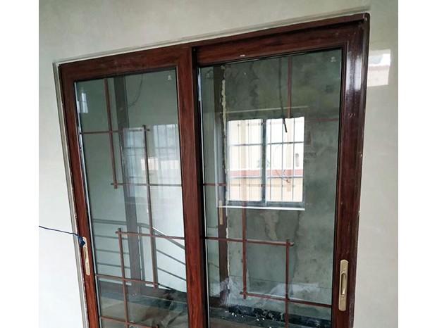 广州芳村增漖村自建房室内铝合金门 MC-175