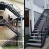 不锈钢烤漆楼梯扶手 FS-076