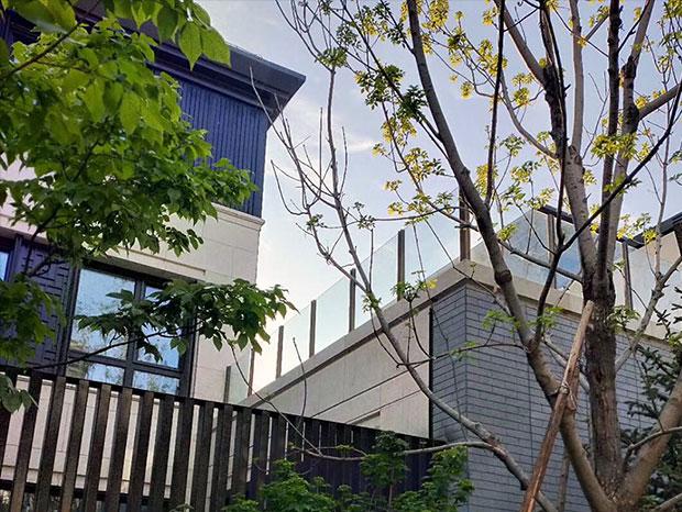 铝合金玻璃阳台护栏 LG-082
