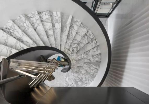 美感,韵味,气氛,前卫,造型等各方面兼备的楼梯方案欣赏!