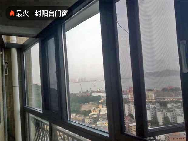 佛山中信·金沙水岸断桥纱窗一体门窗及重型推拉门案例,高档小区首选