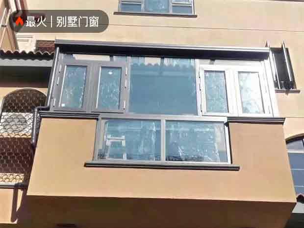 万科天河御品铝窗花、门窗安装