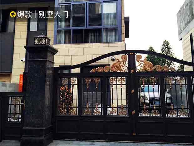 豪华别墅大门与围墙栏杆 DM-025