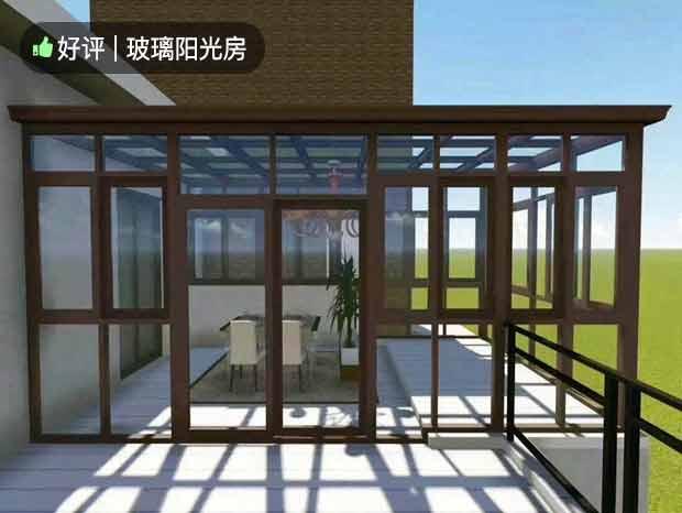 别墅阳光房、玻璃雨棚 MC-185