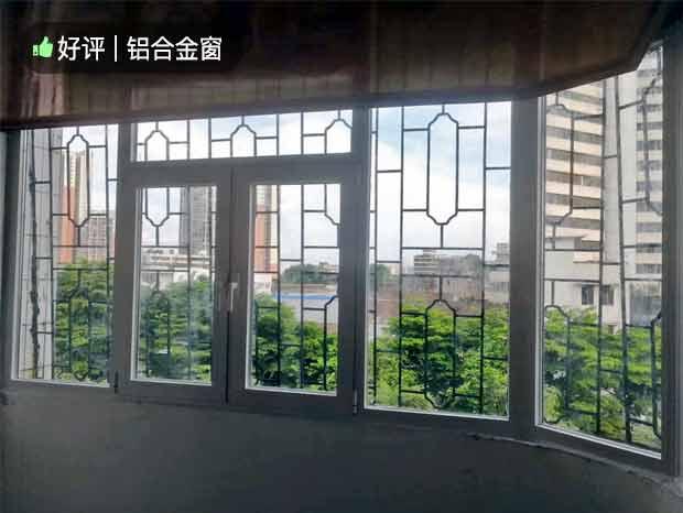 下南沙弧形铝合金封阳台及封窗 MC-193