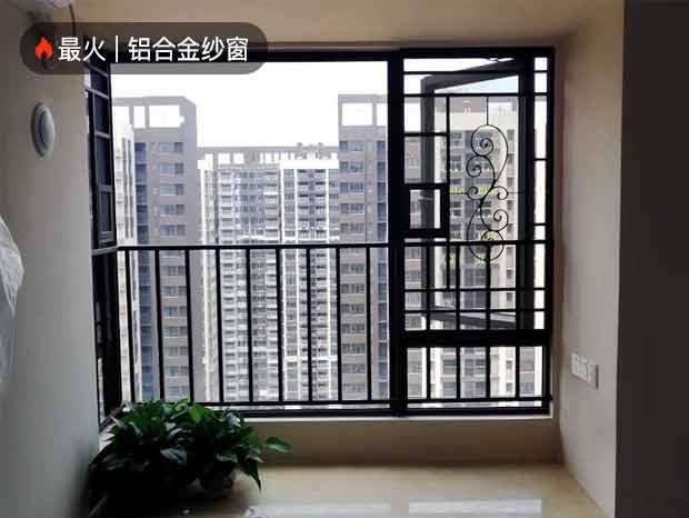 中山金色家园三期李总全屋纱窗和封闭阳台