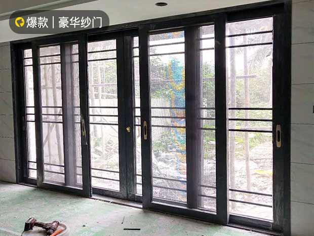 华南碧桂园铝合金重型推拉门 MC-177
