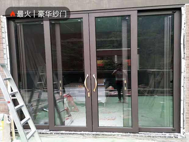 南沙湾·东苑铝合金门窗实拍  MC-180